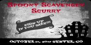 Spooky Scavenger Scurry – Denver