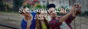 Scavenger Hunt Party Header