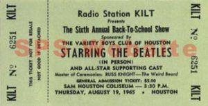beattles-ticket