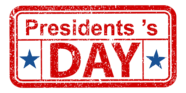 President's Day Discounts!